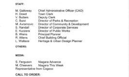 Council minutes Dec 12 2011