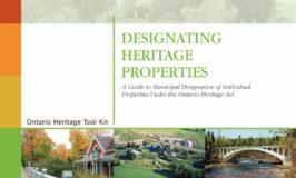 Ontario Heritage Tool Kit