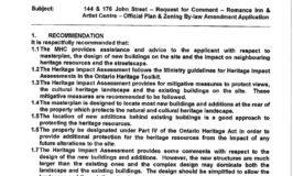 Municipal Heritage Committee Aug 2011