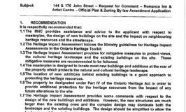 Municipal Heritage Committee Aug 2011